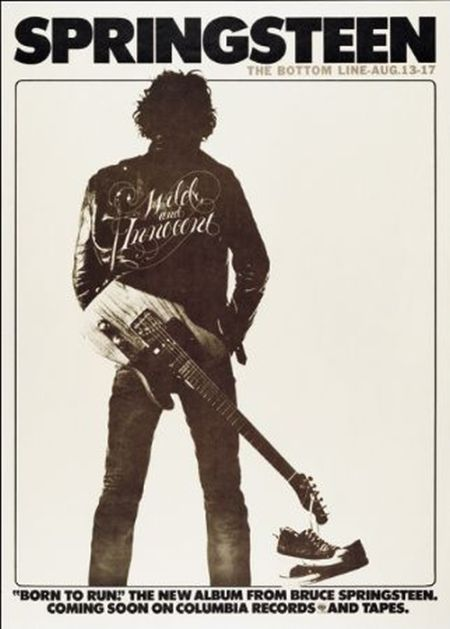 Springsteen - Born to Run - Columbia Promotional Poster