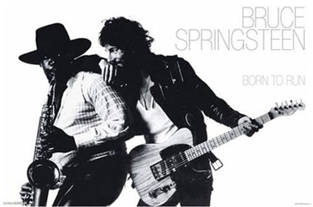 Springsteen BornTo Run poster