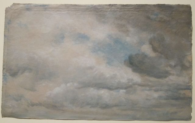 Study of Clouds, 1822