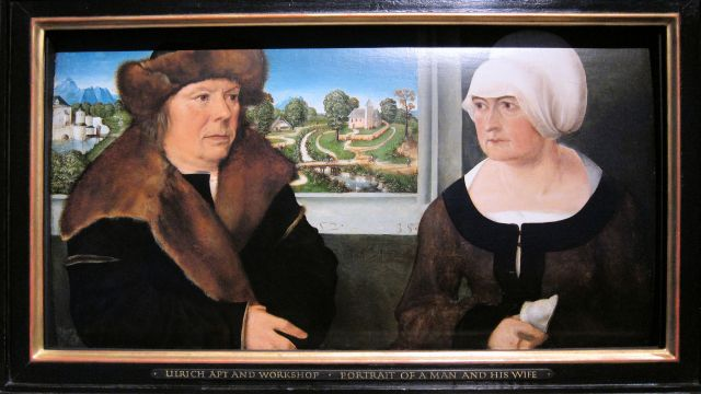 Ulrich Apt, A Man and his Wife, 1512