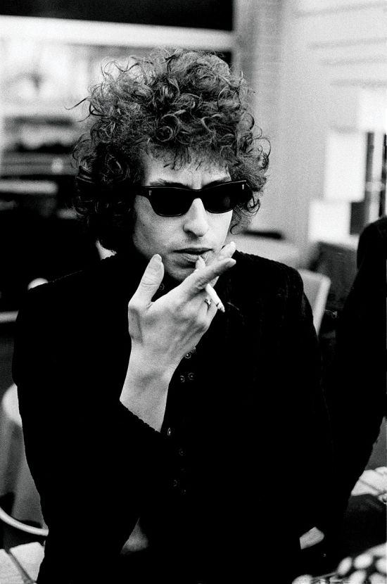Dylan during Blonde on Blonde sessions