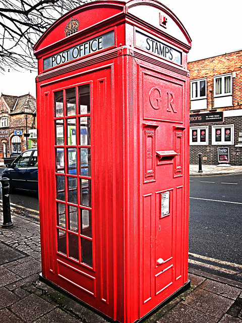 Frodsham Scott phone box