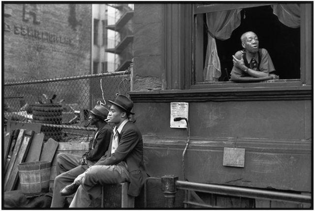 Henri Cartier-Bresson, Harlem, New York, 1947