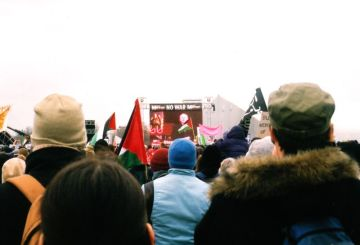 Iraq demonstration 15.2.2003 19