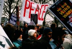 Iraq demonstration 15.2.2003 4