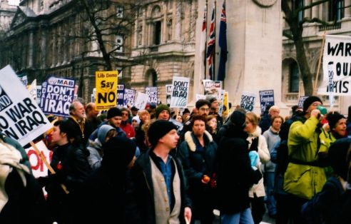 Iraq demonstration 15.2.2003 9