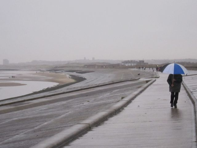 Leasowe embankment