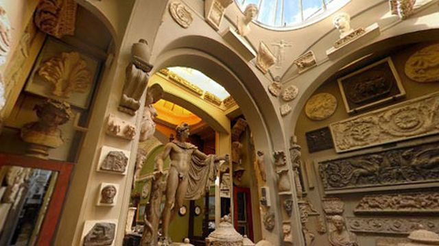 Sir John Soaneu0027s Museum Interior 2