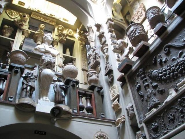 Sir John Soane's Museum interior