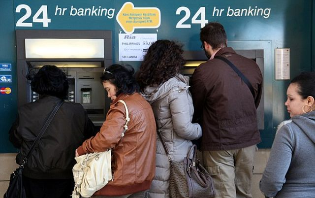 ATMs emptied across Cyprus