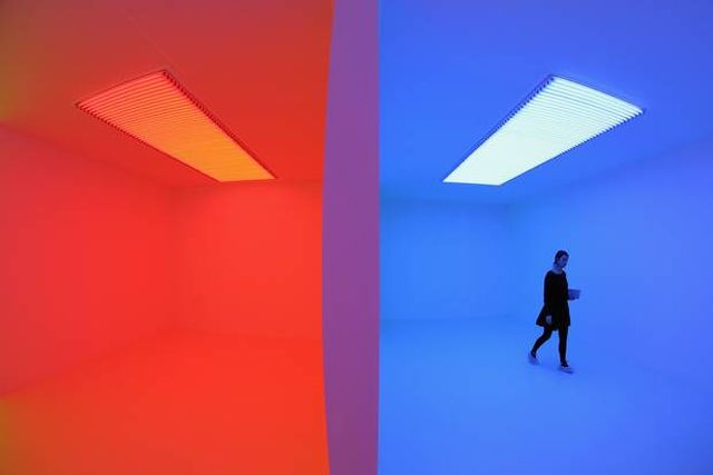 Carlos Cruz-Diez 'Chromosaturation'
