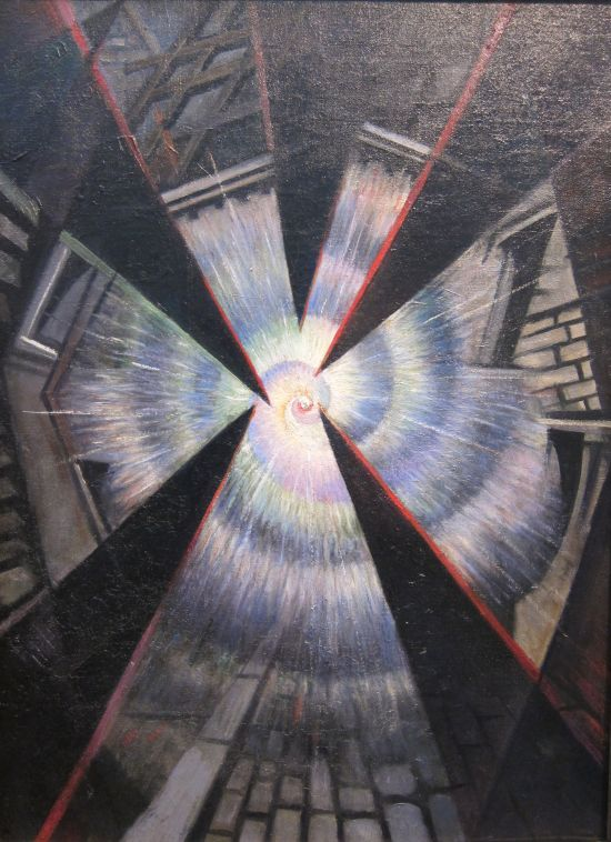 Christopher Richard Wynne Nevinson Bursting Shell 1915