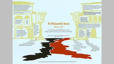 Al-Mutanabbi Street 2007 printed by Peggy Gotthold & Lawrence G. Van Veltzer, California