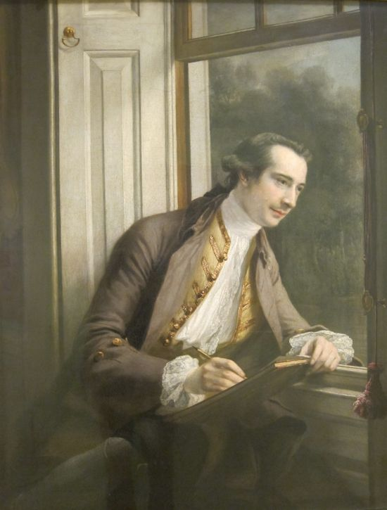 Francis Cotes Paul Sandby 1761