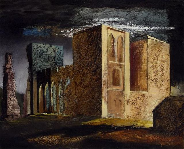 John Piper Llanthony Abbey 1941