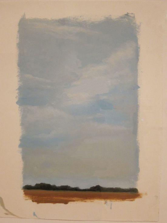 Lisa Milroy Sky 1997