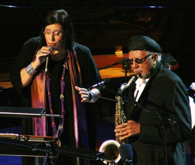 Maria Farantouri with Charles Lloyd