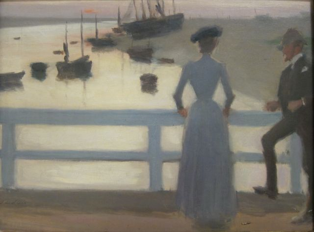 Philip Wilson Steer The Bridge 1887