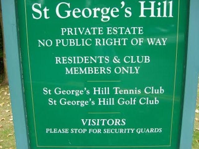 St Georges Hill
