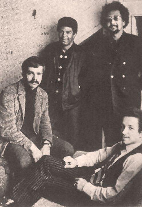 The Charles Lloyd Quartet in 1969, featuring Keith Jarrett