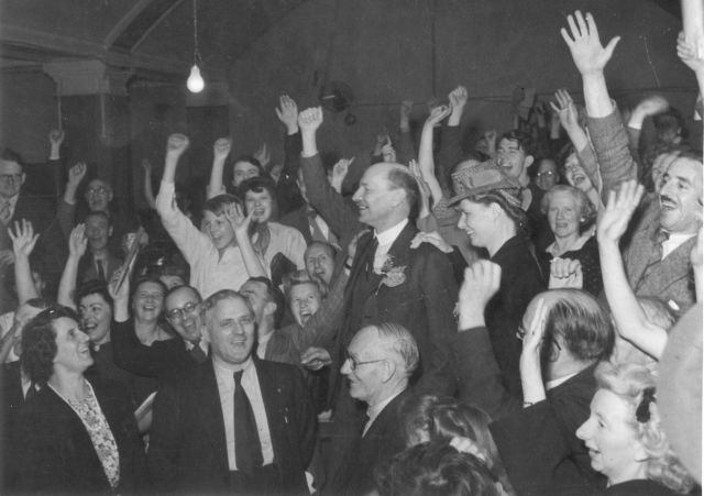 The Spirit of 45  Clem Attlee Victory Night 1945