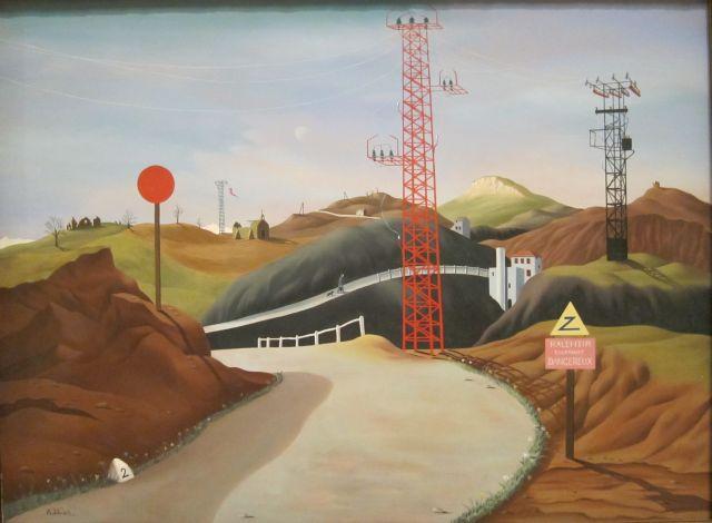 Tristram Hillier La Route des Alpes 1937