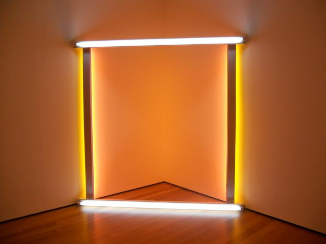 Dan Flavin: Untitled (to the innovator of Wheeling Peachblow), 1966–8