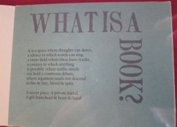 What is a Book, Alma Bolton