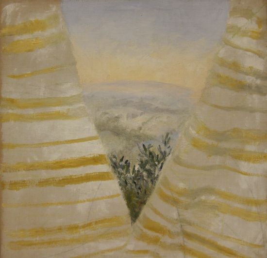 Winifred Nicholson Glimpse Upon Waking 1976