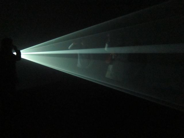 You and I, Horizontal (2005) by Anthony McCall