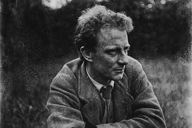 Edward Thomas at Steep 1914