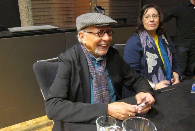 Charles Lloyd and Maria Farantouri at the Barbican: songs of faith, songs ofhope
