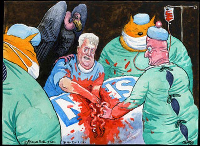 Steve Bell NHS wakeup