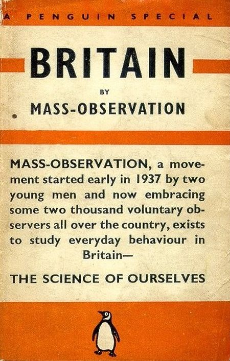Britain by Mass Observation published 1938