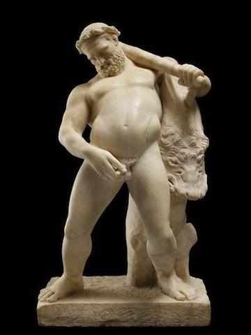 Hercules peeing from Herculaneum