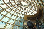 The atrium dome