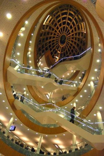 The astonishing atrium