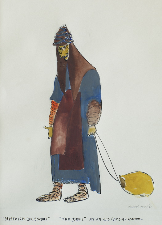 Martha Visser't Hooft The devil as an old pedlar woman