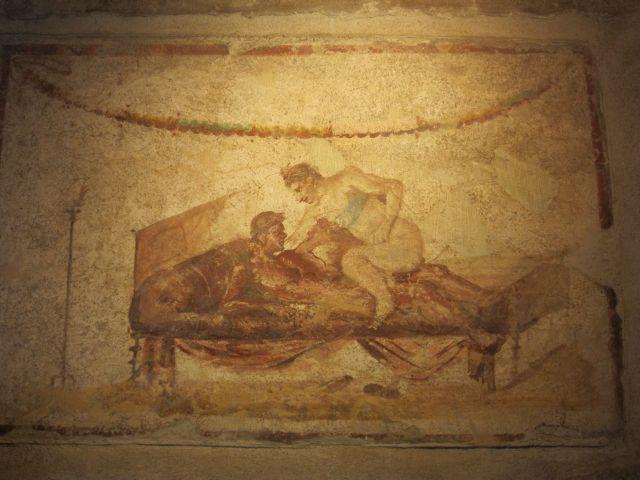 Pompeii brothel 2