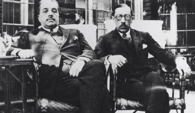 Sergei Diaghilev and Igor Stravinsky