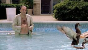 Tony Soprano and ducks