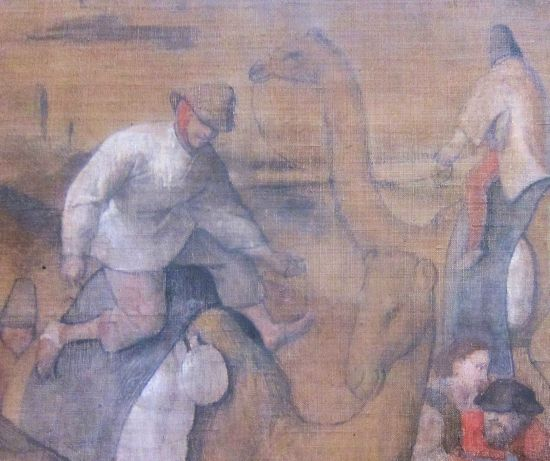 Bruegel Adoration of the Wise Men 1569 detail 2