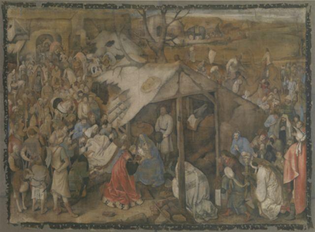 Bruegel Adoration of the Wise Men 1569