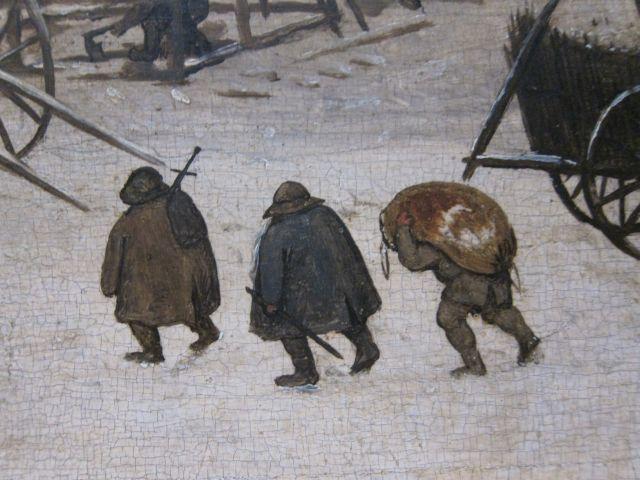 Bruegel Census at Bethlehem 1566 detail 10