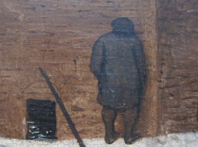 Bruegel Census at Bethlehem 1566 detail 2