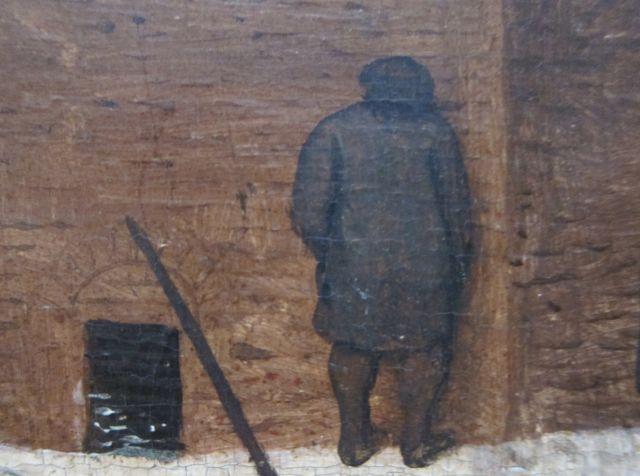 Bruegel Census at Bethlehem 1566 detail 2
