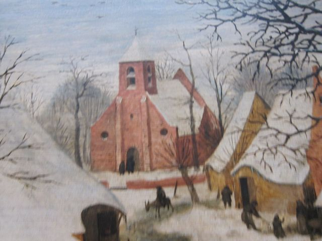 Bruegel Census at Bethlehem 1566 detail 5