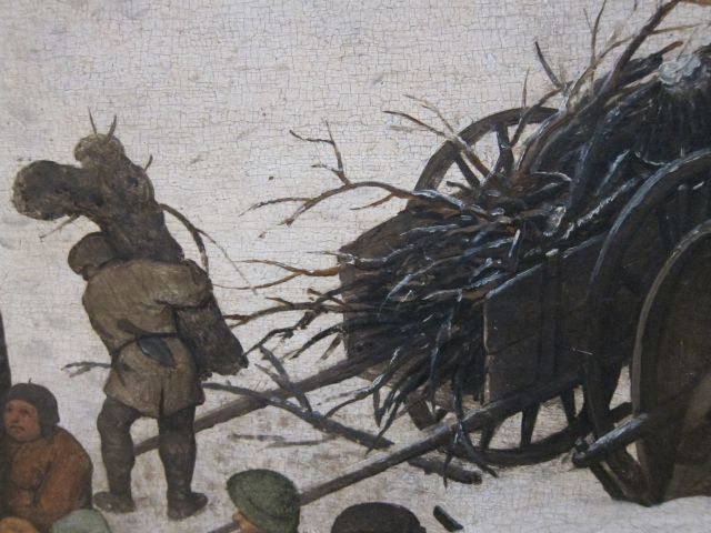 Bruegel Census at Bethlehem 1566 detail 6