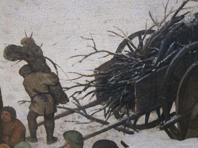 Bruegel Census at Bethlehem 1566 detail 6