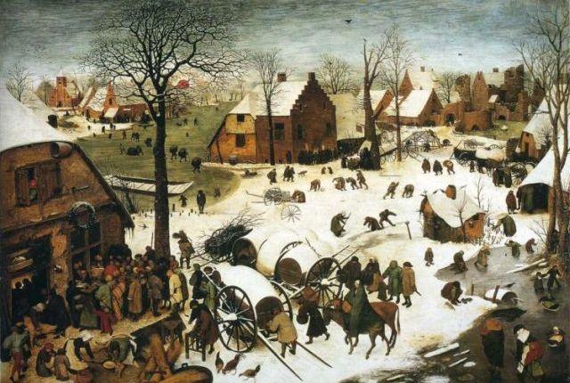 Census At Bethlehem by PieterBruegel